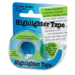 3 Line Green Highlighter Tape