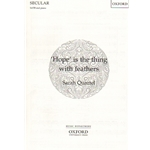 'Hope' is the Thing with Feathers - SATB