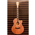 Angel 3 Grand Auditorium w/PU & Cutaway - Redwood/Blackwood w/Cole Clark Hardshell Case