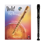 Brown Tudor Recorder & Do It! Recorder Book and CD