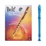 Candy Apple 2-pc Blue Recorder & Do It! Book and CD