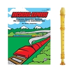 Candy Apple 2-pc Gold Recorder & Recorder Express Book