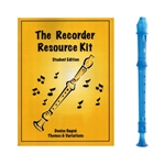 Candy Apple 2-pc Blue Recorder & Recorder Resource Kit Book