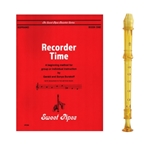 Candy Apple 2-pc Gold Recorder & Recorder Time Book