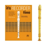 Candy Apple 2-pc Gold Recorder & It's Recorder Time Book