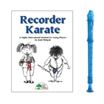 Candy Apple 2-pc Blue Recorder & Recorder Karate Book