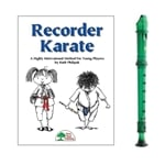 Candy Apple 2-pc Green Recorder & Recorder Karate Book