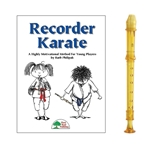 Candy Apple 2-pc Gold Recorder & Recorder Karate Book