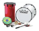 Remo Steve Houghton Brazilian Instrument Package