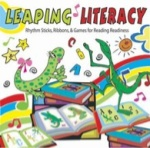 Leaping Literacy! Ribbon Sticks, Ribbons and Games (CD)