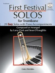 First Festival Solos (Bk/CD) - Trombone and Piano