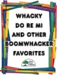 Whacky Do Re Mi Boomwhacker Book with CD