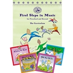 First Steps in Music for Preschool and Beyond - Book with 4 CDs