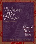 Language of Music Knowledge Cards