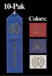 Chorus Award Ribbon - RED 10 Pak