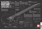 Electric Guitar Anatomy and Mechanics Wall Chart - Poster