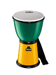 "NINO ABS Djembe 8"" Green/ Yellow"