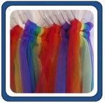 Hoop Scarf Streamers - Set of 6
