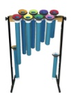 Orff Alto Joia Tubes: One Octave C-C, F#, Bb, w/mallets