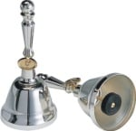 UCHIDA MB-SPE Silver Excellent Series 8 Note Bell Set with Hard Case