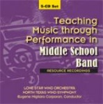 Teaching Music Through Performance in Middle School Band - CD