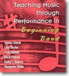 Teaching Music Through Performance in Beginning Band, Vol. 1 - CD