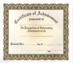 Achievement Certificates - Generic