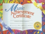 Music Achievement Certificates
