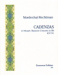 Cadenzas by Mordechai Rechtman: Mozart Concerto in B-flat Major, K. 191 - Bassoon