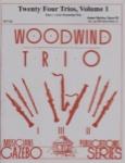 24 Trios, Vol. 1 Op. 82 - Woodwind Trio