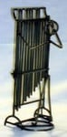 Chimes Stickman Sculpture