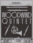 Serenade, Op. 44, Movement 3: Andante - Woodwind Quintet