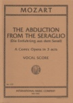 Abduction from the Seraglio - Vocal Score (German/English)