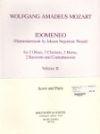 Idomeneo, Vol. 2 - Woodwind Nonet