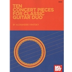 10 Concert Pieces for Classic Guitar Duo - Classical Guitar Duet
