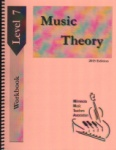 Music Theory 2015 Student Workbook, Level 7