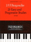 25 Easy and Progressive Studies Op 100 - Piano