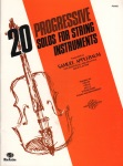 20 Progressive Solos for String Instruments - Piano Accompaniment