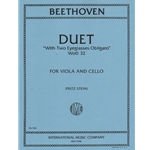 Duet with Two Obligato Eyeglasses, WoO 32 - Viola and Cello Duet