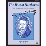 Best of Beethoven for String Quartet or String Orchestra - String Bass Part