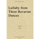 Lullaby from Three Bavarian Dances - String Quartet (Score)