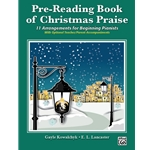 Pre-Reading Book of Christmas Praise - Piano