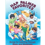 Hap Palmer Favorites - Music and Movement Book
