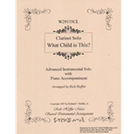 What Child Is This? - Clarinet and Piano