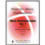 3 Christmas Solos, Volume 1 - Clarinet and Piano