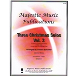 3 Christmas Solos, Volume 3 - Clarinet and Piano
