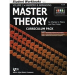 Master Theory, Volume 2 (Books 4-6) - Student Workbooks