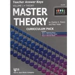 Master Theory, Volume 1 (Books 1-3) - Teacher Answer Keys
