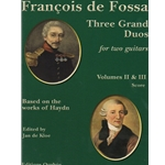 3 Grand Duos, Volumes 2 and 3 - Classical Guitar Duet (Score)