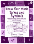 Know Your Music Terms and Symbols, Book and CD-ROM